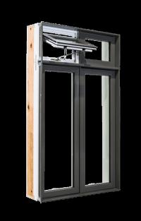 Fenêtre de la collection Zen - Type Auvent - Groupe Royalty