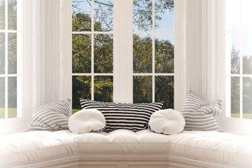 Fenêtre à baie ou en arc